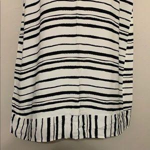 Eloquii Dresses - Eloquii White and Black Shift Dress 18/20